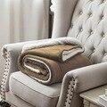 130*160CM Weiche Decke Winter Warme Bequeme Flanell Größer und dicker Decken Für Sofa Bett Auto Tragbare Hause frohes neues jahr-in Decken aus Heim und Garten bei