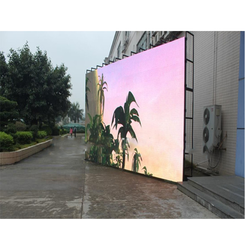 P6 SMD2727 Slim Panel Oudoor LED Rental Screen / 6mm Pixel Pitch Outdoor Rental LED Display Panels Billboard
