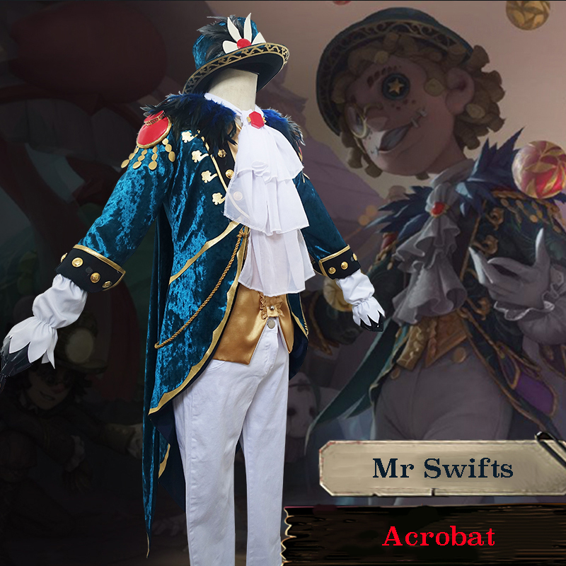 Game Identity V Cosplay Costumes Mike Morton Cosplay Costume Survivor Acrobat Mr Swifts Skin Uniform Anime Cosplay Costume