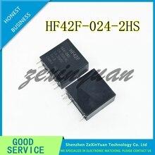 10 ピース/ロット F4AK024T FTR F4AK024T F4AK024 24 220V のみ送信 HF42F 024 2HS