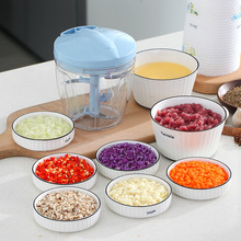 Garlic Crusher Chopper WORTHBUY Vegetable-Cutter Kitchen-Accessories Manual-Ginger Fruit