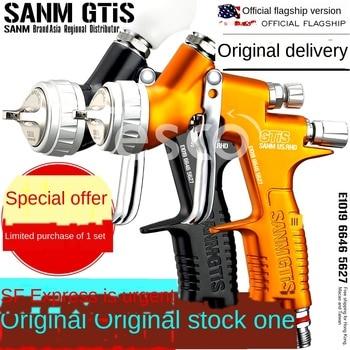 цена на Automotive spray gun high atomization oily paint water-based paint paint sheet metal spray gun pneumatic
