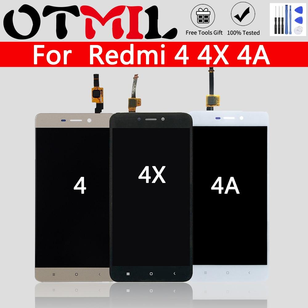 Tested For XIAOMI Redmi 4 4X 4A LCD Original 5.0