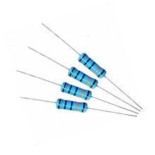 100 pces 470 ohm 1/4w 470r metal filme resistor 1%