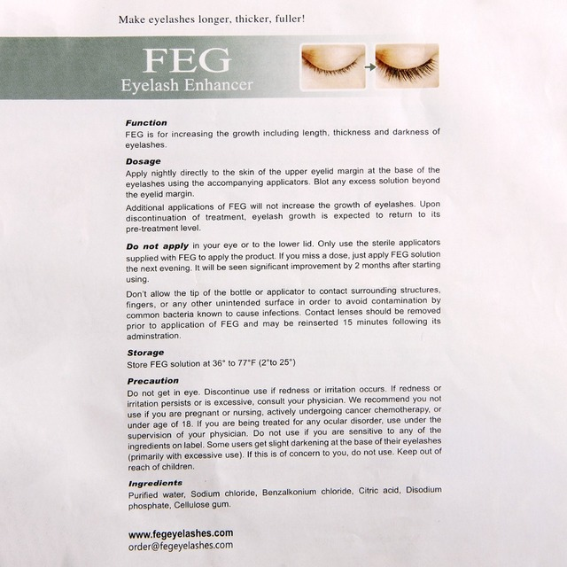 FEG Eyebrows Eyelash Enhancer Feg Original Rising Eyebrow Growth Serum Long Thicker Cosmetics Set crescer sobrancelha crece ceja 5