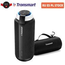 [במלאי] Tronsmart אלמנט T6 25W DSP נייד Bluetooth רמקול עם 360 סטריאו צליל עמוק בס חיצוני נייד מיני רמקול