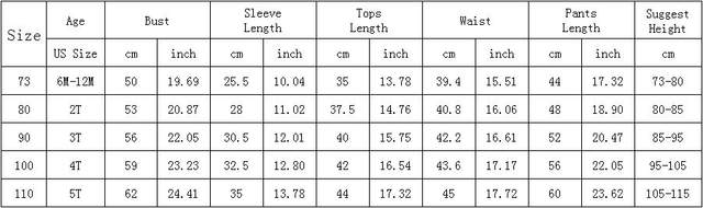 Toddler 2019 Hot Sale Children Clothes For Boys Girls Ribbed Set With Full Sleeve Kids Soft Autumn Winter Cloth Baby Pants 2 Pcs (5)