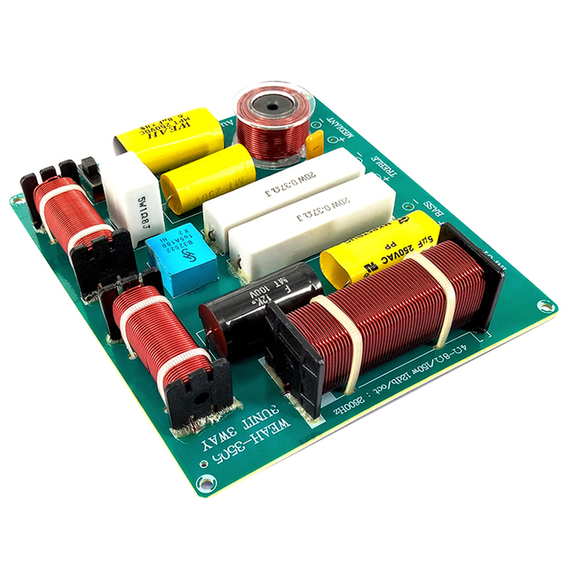 300W 3 Way Hi-Fi Speaker Frequency Divider Crossover Filters