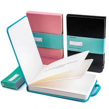 Przenośny śliczny notatnik w skórzanej oprawie podręcznik w twardej oprawie szkicownik w kolorze wody 300g bawełniana papierowa podkładka do malowania akwarelowego