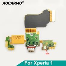 דוואר לי סוג C USB מטען טעינת נמל טעינת Dock Connector Flex כבל עבור Sony Xperia 1 החלפה