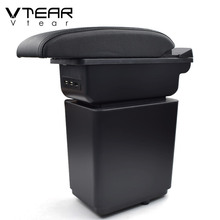 Vtear For Citroen Berlingo Peugeot Partner Tepee Car Armrest ABS Arm Rest Car-Styling