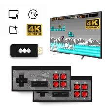 Портативная игровая консоль 4k hdmi tv со встроенными 568 классическими