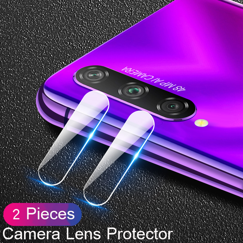 Lainergie 2 Pieces For Huawei P Smart Pro 2019 Camera Lens Film Protective Back Lens Camera Protector Glass For P Smart Pro 2019
