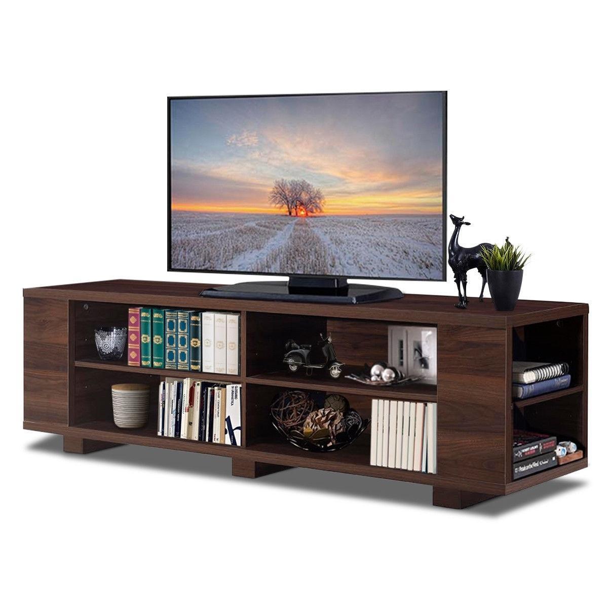 59 консоль ХРАНЕНИЯ развлечений медиа деревянный ТВ Стенд HW60170