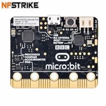 Английская BBC Microbit Go NRF51822 развивающая Мужская Т-доска Питон для начинающих графическое Программирование игрушки аксессуары для мужчин детский подарок
