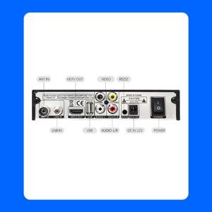 Image 2 - Newest DVB T2 DVB S2 Terrestrial Satellite Receiver Combo Support  Biss 1080P HD DVB T2 S2 Receptor DVB S2 Satellite receiver