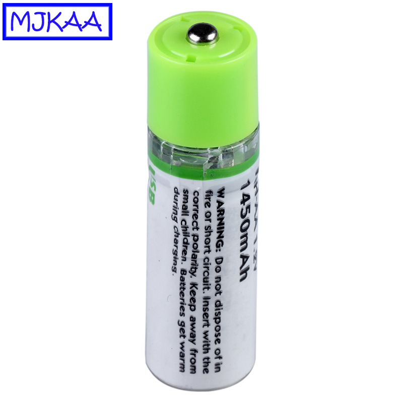 MJKAA 1/2Pcs AA 1.2V Ni-MH USB Rechargeable Battery 2A Charging 1.2 V NIMH Batteries for Toys Clocks Electric Tool image