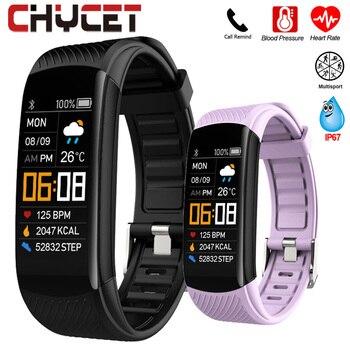 Smart Bracelet Watch Blood Pressure Monitor Fitness Tracker Bracelet Smart Watch Heart Rate Monitor Smart Band Watch Men Women 1