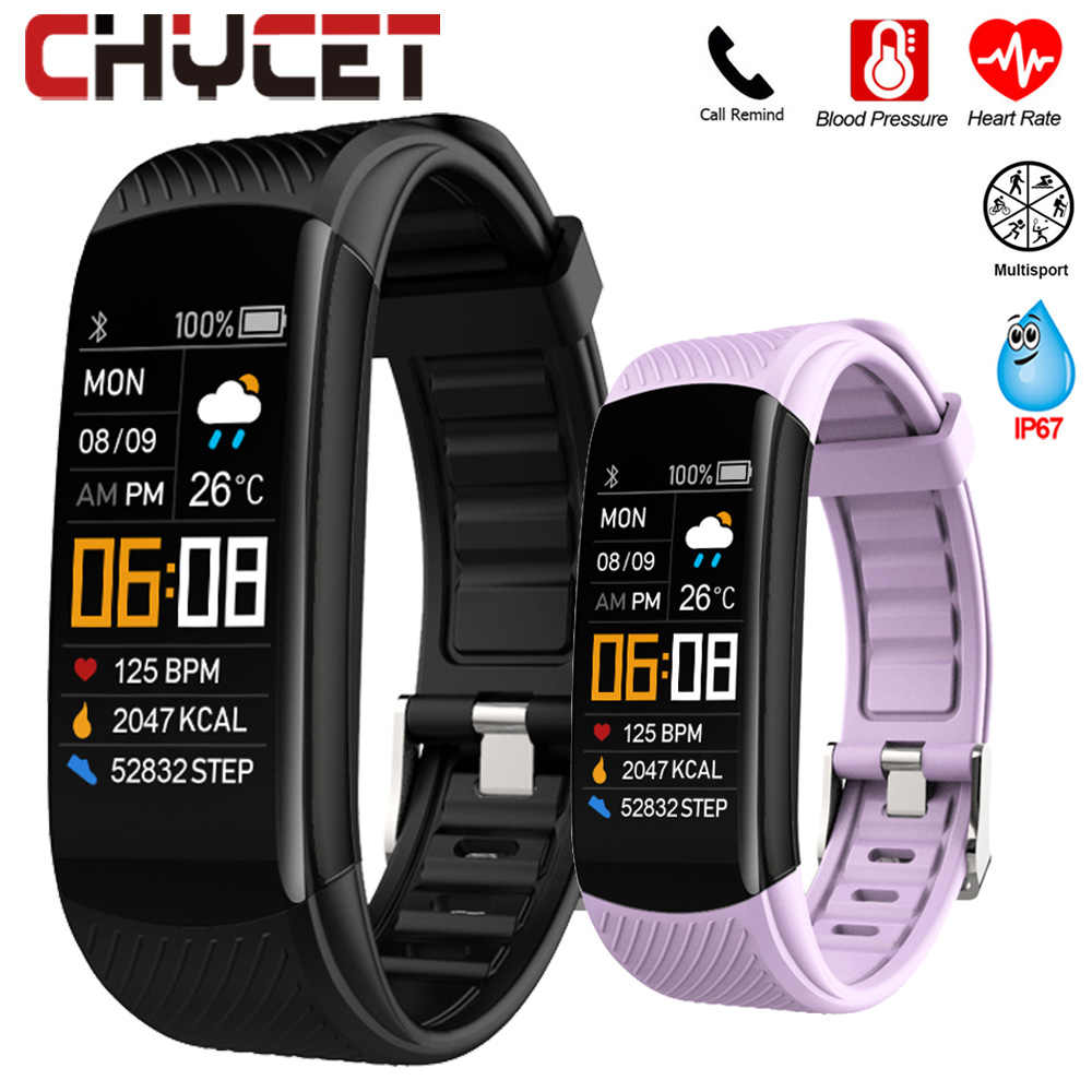 Smart Bracelet Watch Monitor della pressione arteriosa Fitness Tracker bracciale Smart Watch cardiofrequenzimetro Smart Band Watch uomo donna