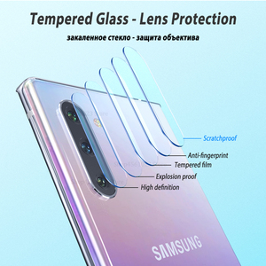 Image 2 - 9D Camera Glass For Samsung Galaxy Note 10 Pro Tempered Glass Screen Protector For Samsung Galaxy Note10 Plus Note 9 8 Lens Glas