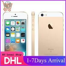Apple iphone se a1723, smartphone eu com núcleo dual core, identificação de digitais, 4g, lte, 16/32/64gb celular ios com identificação de toque rom