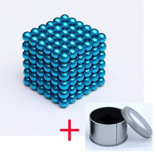 Wholesale Magnet Blocks Relax Funny Toy 3mm Magnetic balls Ndfeb Power Magnets Neo Cube Funny Puzzle Toys Metal box magnetic toy set ndfeb magnet rods iron balls multiple color cylinder spheres construction stress release kit drop shipping