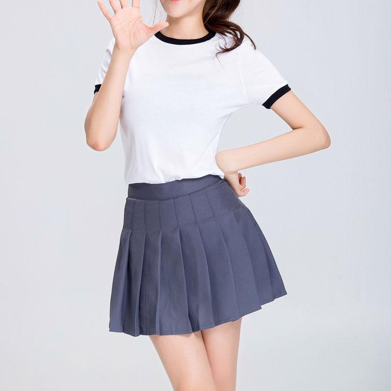 Japanese School Uniform Cosplay Costume Gym Sportwear T-short Shorts Full Set