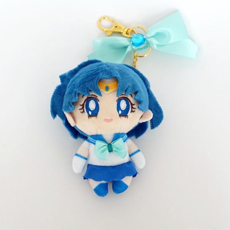 1Pc Cute Sailor Moon Mars Mercury Jupiter Venus Chibiusa Stuffed Plush Doll Key Chain Bag Pendant  Plush Toys Gift