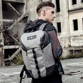 Casual Men Oxford Waterproof Bags Outdoor Sports Travel Backpacks Male Patchwork Schoolbags Laptop Backpack Large Capacity Bag