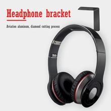Wall Headphone Holder Durable Aluminum Headset Hanger Stand Desk Display Earphone Hook Bracket Accessories