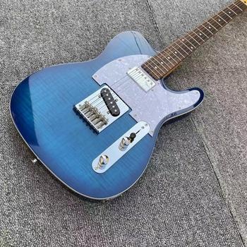 цена Chrome Hardware Tele Electric Guitar,  Blue Boutique Chinese Alder Body Electric Guitar,GRAPH TECH TUSQ Nut,GALLISTRINGS онлайн в 2017 году