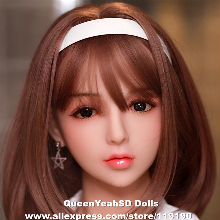 Japanese Silicone Sex Doll Heads For Silicone Reborn Dolls Lifelike Love Dolls Heads Oral Adult Sexy Toys