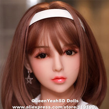 Japanese Silicone Sex Doll Heads For Silicone Reborn Dolls Lifelike Love Dolls Heads Oral A