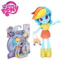 9cm meu pequeno pônei equestria meninas moda esquadrão rarity arco-íris traço poção mini boneca brinquedo com equipamento e acessórios surpresa