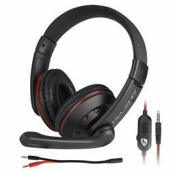 Игровая гарнитура Gamer, стереонаушники с шумоизоляцией, гарнитура с микрофоном для PS4/Nintendo Switch/Xbox One/ПК