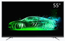 Android OS Slim Flat 55 Inch wifi Smart Android internet LED television TV(China)