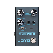JOYO ATMOSPHERE Reverb Guitar Pedal SPRING/CHURCH/PLATE/EKO VERB/SHIMMER/COMET/REWIND/FOREST/PULSE 9 Digital Reverb Effect R 14