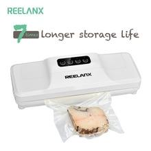 REELANX vakumlama makinesi V1 160W gıda için vakum paketleme makinesi ile 15 adet çanta en iyi vakumlu ambalaj makinesi sızdırmaz ambalaj