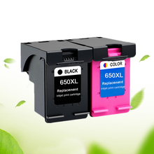 650Xl Ink Cartridge Replacement for Hp 650 Xl for Hp650 Deskjet 1015 1515 2515 2545 2645 3515 3545 4515 4645 цена 2017