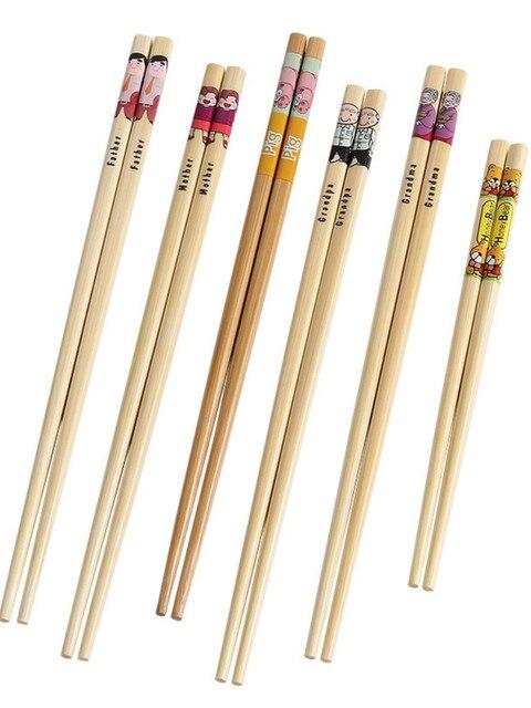 Купить набор японских палочек для еды бамбуковых из натурального дерева картинки цена