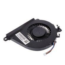 Вентилятор охлаждения ноутбука Процессор радиатор Замена для hp двумя способами; женские 15-AX TPN-Q173 15-BCs 15-BC013TX BC015TX