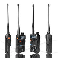 "vhf uhf dual 2pcs Baofeng BF-F8 + מכשיר הקשר Dual Band VHF & UHF SMA-F שני הדרך רדיו BF F8 + F8 Comunicador Ham CB רדיו טווח Hf מקמ""ש (2)"