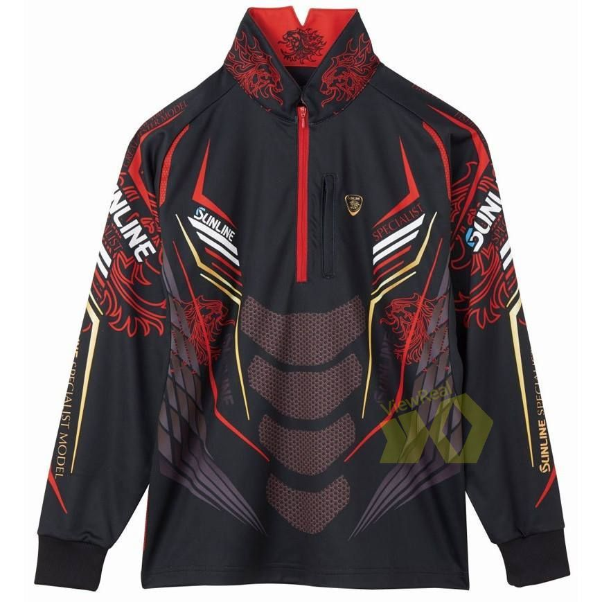 Sunline Fishing Clothes Outdoor Long Sleeve Fishing Jersey Breathable Fishing Shirts Quick Dry Anti-UV Jersey Men Fishing Jacket