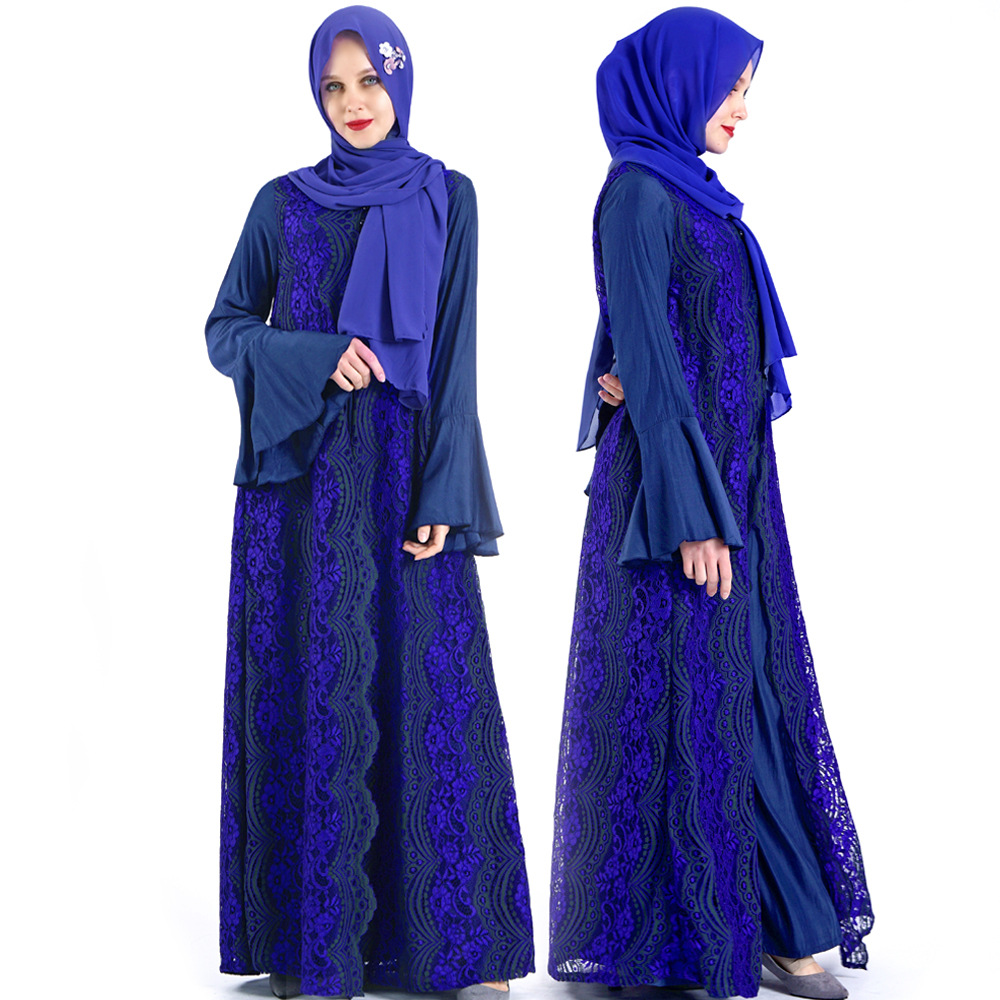 Dubai Abaya Saudi Arabia Turkey Hijab Muslim Dress Caftan Marocain Kaftan Robe Islamic Clothing Abayas For Women Ramadan Kleding