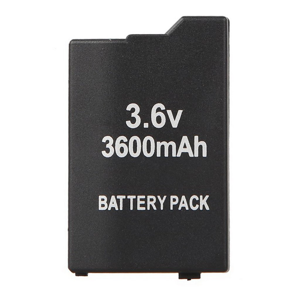 Replacement Battery Replacement Slim Extended Battery Set+black Door Cover For Sony PSP 2000 3000