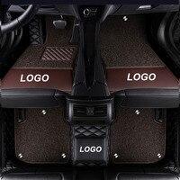 Car Floor Mat for Mercedes ML 320 350 400 450 500 550 W164 W166 W163 ML63 ML300 ML320 ML350 Accessories Leather Floor Mat Carpet