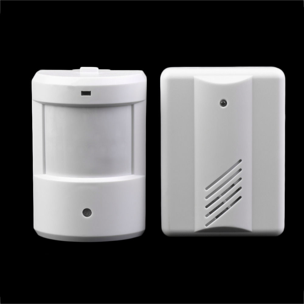 Driveway Patrol Garage Infrared Wireless Doorbell Alarm System Motion Sensor Home Security Alarm Motion Sensor