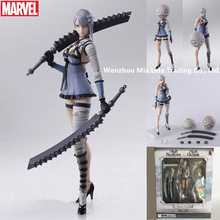 Hasbro NieR:Automata The Disguiser Multiple joints can rotate Doll Model toys