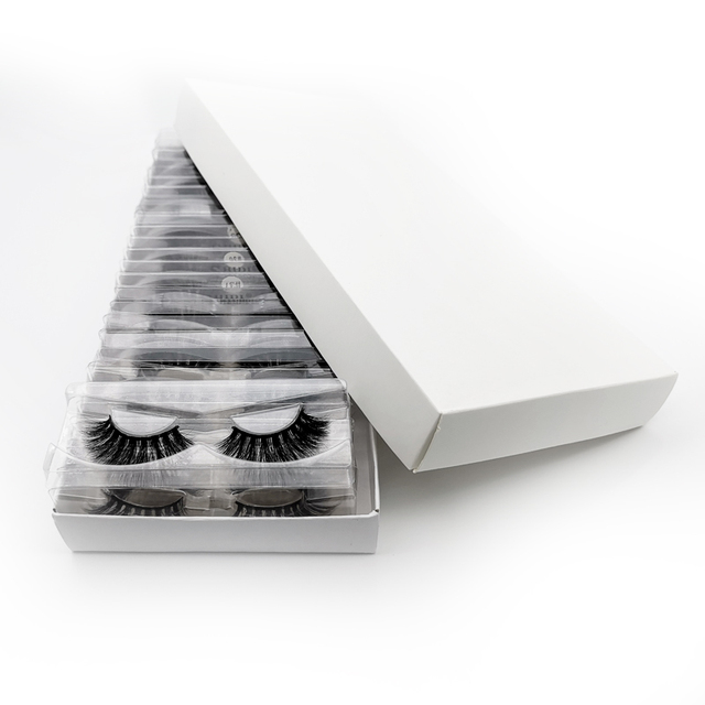 Wholesale Eyelashes 20/40/50/100pcs 3d Mink Lashes Natural Mink Eyelashes Wholesale False Eyelashes Makeup False Lashes In Bulk 4