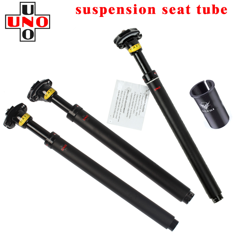 27.2//31.6x350mm Suspension Bike Seatpost Shock Absorber Seat Pole Bike Seat Tube